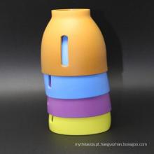 Luva personalizada do copo de café do silicone do melhor costume resistente feito sob encomenda