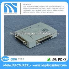 Boîte de commutation de partage d'imprimante parallèle DB-25 à 25 ports 25 broches (auto)