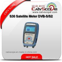 Sondeur Satellite S30 DVB-S / S2 / Compteur Satellite Portatif à piles