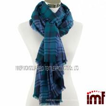 Hijab Scarf 2015 Шотландский костюм Мериносовой шерстяной шарф