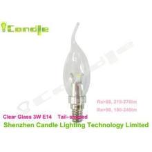 Ra70 3 Watt Led Candle Bulb E14 / E10 / E12 2200 - 6500k 11