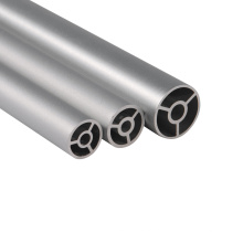 Extrudiertes Aluminiumrohr für Antennenrollendrucker Rundrohrrohr für Autoteile