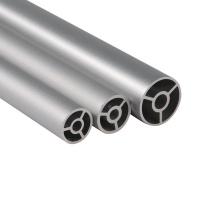 Tube en aluminium expulsé pour le tuyau rond de tube d'imprimante de rouleau d'antenne pour des pièces d'auto