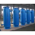 filtre automatique d'eaux d'égout de fonte avec l'écran d'acier inoxydable
