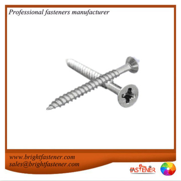 Mild steel wood screws