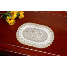 PVC Golden Lace Placemat (JFCD-003)