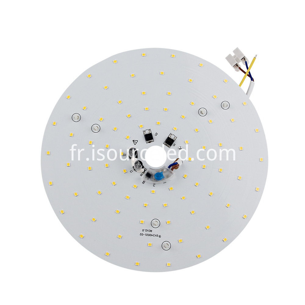 smd 2835 Warm white 24W AC LED Module front