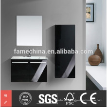 2015 High Glossy Fashional MDF Bathroom Furniture