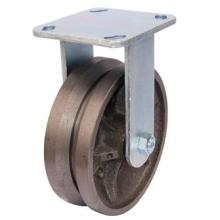 Fixed V-Groove Cast Iron Caster (4404482)