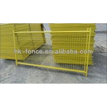 Kundengebundene Größe galvanisierte Metallmassen-Steuerbarrieren / Barrikade