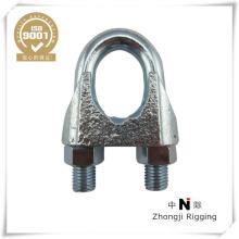 corda de fio maleável clip din741