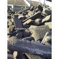 carbon block/carbon anode scraps/carbon anode block for copper smelting