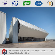 Fabricante profesional de hangar de aviones de estructura de acero