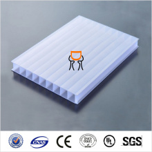 UV-Blocking PC Hohlbogen PC Solid Polycarbonat Blatt Preis