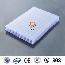 Bloco de bloqueio UV PC Folha oca Folha de policarbonato sólido Preço