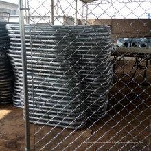 Clôture galvanisée électrique de lien de Cahin de PVC enduit