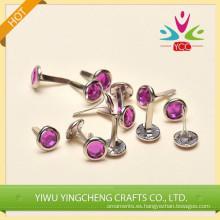 Broches metálicos de arte joyas