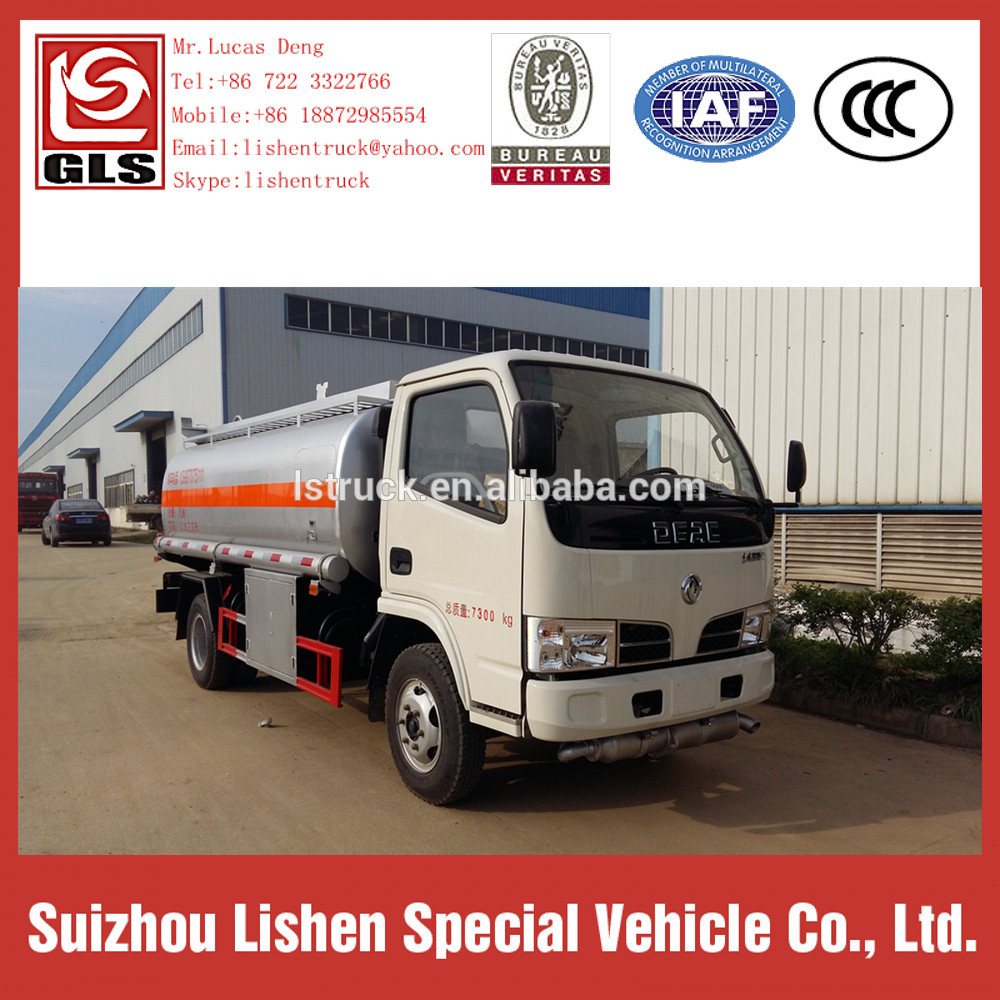 Small Fuel Tank 5000L DFAC Oil Truck Tanker