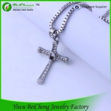 Dominic Toretto Pendant Stainless Steel Cross Necklace