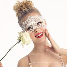 Sexy indische halloween Stoff Spitze Maske