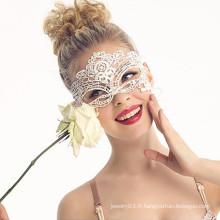 Masque de dentelle sexy en tissu indien d'Halloween