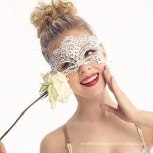 Sexy indian halloween fabric lace mask