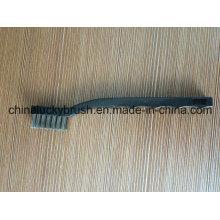 De alta calidad de acero inoxidable de alambre plástico mango cepillo (YY-602)