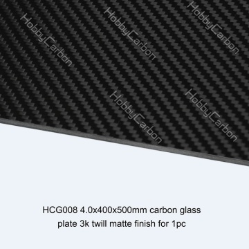 Drones / RC-frame Carbon glasplaten in bulk