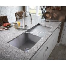 Edelstahl Undermount Handmade Küchenspüle mit Abtropffläche