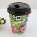 Wholesale Disposable Single Wall Paper Cups with Lids