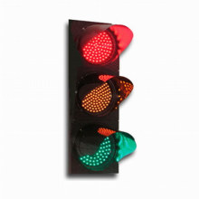 LED Traffic Signal Light Red Yellow Green