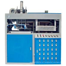 Máquina termoformadora de vacío de lámina delgada de plástico