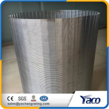 Trade Assurance Good filtering Water Treatment Rotary Sieve Wedge Wire Drum Screen