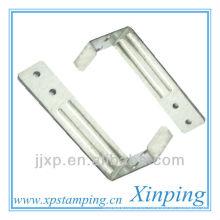 Hoja Piezas de estampación de acero galvanizado a medida