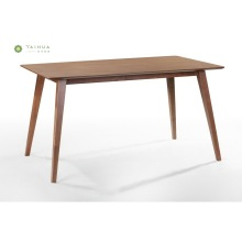 Dining Table for 6 Person 1.6M Dark Walnut