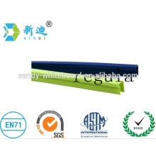Wood grain article advertising board frame PVC panel edge
