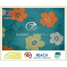 210t поли тафта большой цветок печати одежды ткани (ZCGP058)