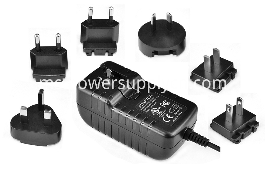 ITE 16V1A Interchangeable Plug Power Supply