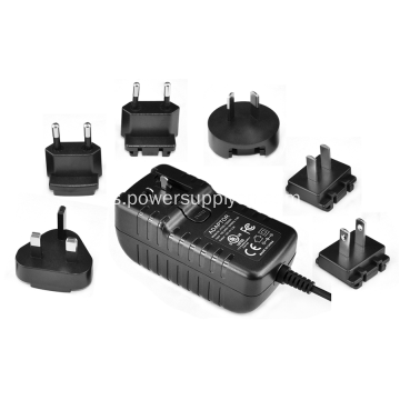 Enchufe intercambiable ITE Adaptador de corriente de pared 16V1A