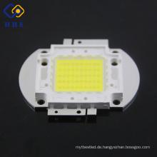 China-Lieferant LED 50W weiße Hochleistungs-Lichtkolben führte Chip mit quadratischen Halter