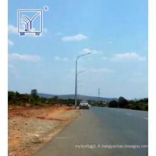 Projet de réverbère à LED de 10 m en Zambie