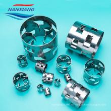 Металлические случайной башни металлические кольца палля 50 мм ss304 нержавеющей стали