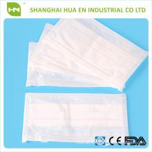Masques faciaux non tissés plus mous par mechine fabriqués en Chine