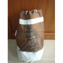 Toile promotionnelle Round Duffer Drawstring Bag