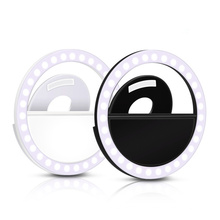 Low MOQ selfie ring light Customized Logo Rechargeable LED For Cell Phone