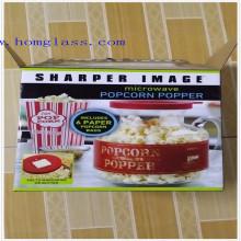 Popper de palomitas de maíz de vidrio de borosilicato Popper / Popper de maíz / máquina de palomitas de maíz / fabricante de palomitas de maíz