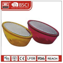 Plastic vegetable grater with bowl,FDA