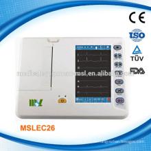 6-Kanal Veterinär-EKG-Maschine MSLEC26-M