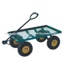 Garden Cart with 320kg Loading Capacity, Pb-free and UV-resistant Powder CoatingNew