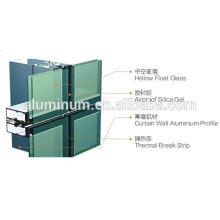 aluminum glass Curtain Wall